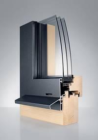 holz aluminium fenster xl. Black Bedroom Furniture Sets. Home Design Ideas